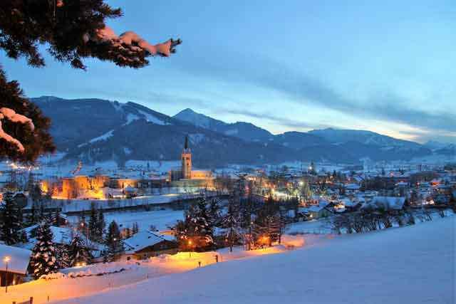 Winterliches Radstadt